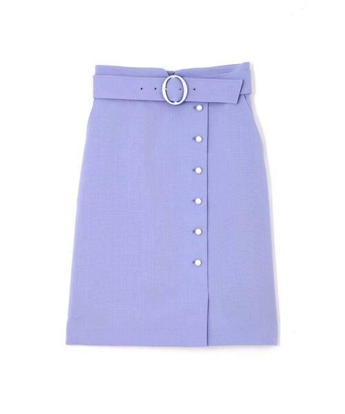PROPORTION BODY DRESSING / プロポーションボディドレッシング  スカート | プテラノブッチャーパール付きタイトスカート | 詳細1
