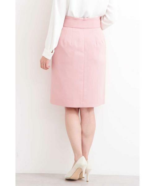 PROPORTION BODY DRESSING / プロポーションボディドレッシング  スカート | プテラノブッチャーパール付きタイトスカート | 詳細7