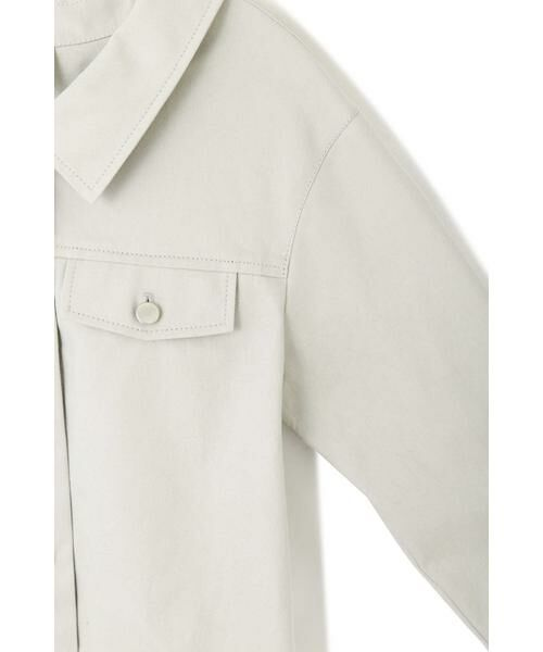 PROPORTION BODY DRESSING / プロポーションボディドレッシング  テーラードジャケット | 《EDIT COLOGNE》オフカラーミリタリージャケット | 詳細6