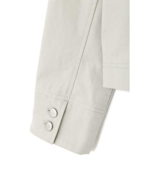 PROPORTION BODY DRESSING / プロポーションボディドレッシング  テーラードジャケット | 《EDIT COLOGNE》オフカラーミリタリージャケット | 詳細7