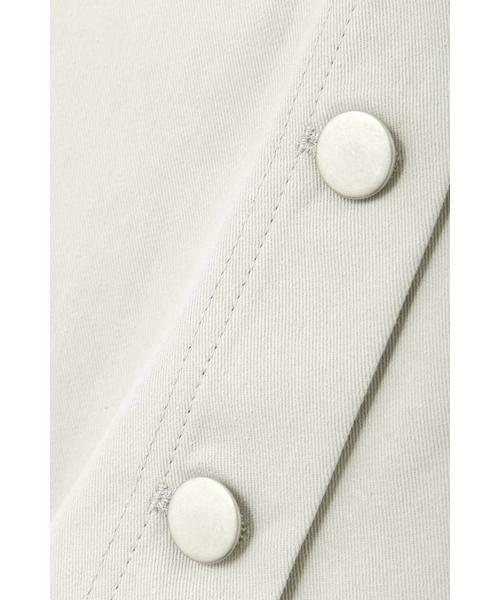 PROPORTION BODY DRESSING / プロポーションボディドレッシング  テーラードジャケット | 《EDIT COLOGNE》オフカラーミリタリージャケット | 詳細8
