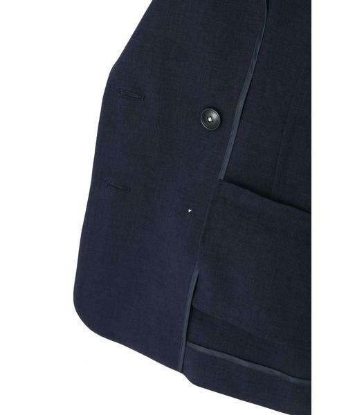 PROPORTION BODY DRESSING / プロポーションボディドレッシング  テーラードジャケット | ◆《EDIT COLOGNE》貝調ダブルボタンジャケット | 詳細9