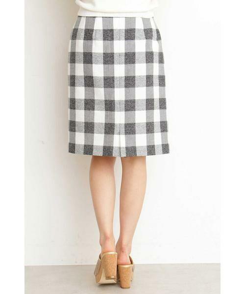 PROPORTION BODY DRESSING / プロポーションボディドレッシング  スカート | ギンガムチェックリボンタイトスカート | 詳細4