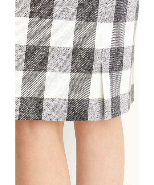 PROPORTION BODY DRESSING / プロポーションボディドレッシング  スカート | ギンガムチェックリボンタイトスカート | 詳細5
