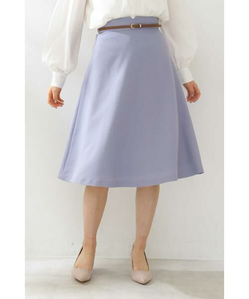 PROPORTION BODY DRESSING / プロポーションボディドレッシング  スカート | ベルト付きフレアスカート | 詳細3