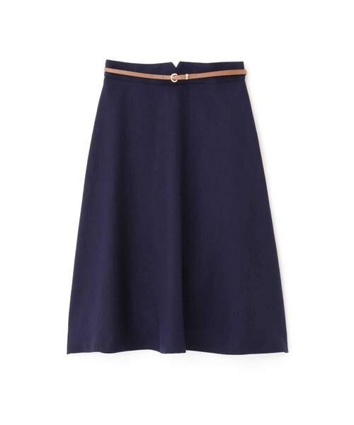 PROPORTION BODY DRESSING / プロポーションボディドレッシング  スカート | ベルト付きフレアスカート | 詳細12