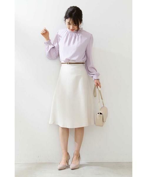 PROPORTION BODY DRESSING / プロポーションボディドレッシング  スカート | ベルト付きフレアスカート | 詳細17