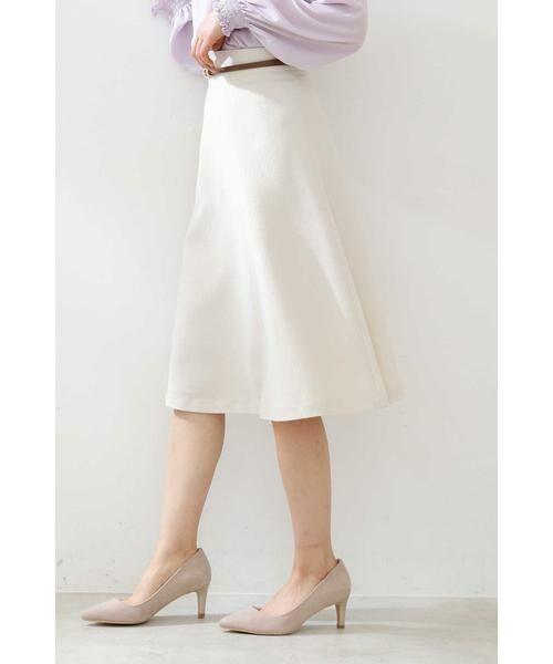 PROPORTION BODY DRESSING / プロポーションボディドレッシング  スカート | ベルト付きフレアスカート | 詳細19