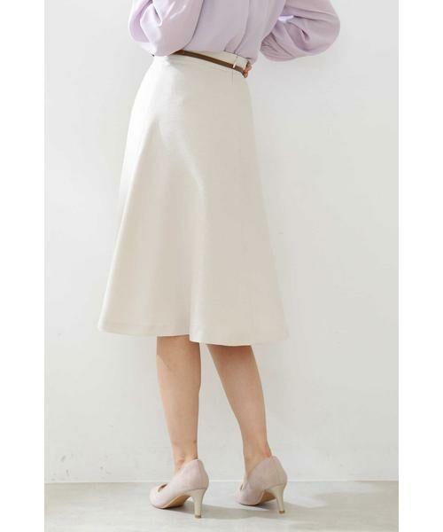 PROPORTION BODY DRESSING / プロポーションボディドレッシング  スカート | ベルト付きフレアスカート | 詳細20
