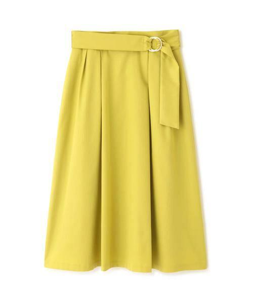 PROPORTION BODY DRESSING / プロポーションボディドレッシング  スカート   ◆リングベルトフレアスカート   詳細1