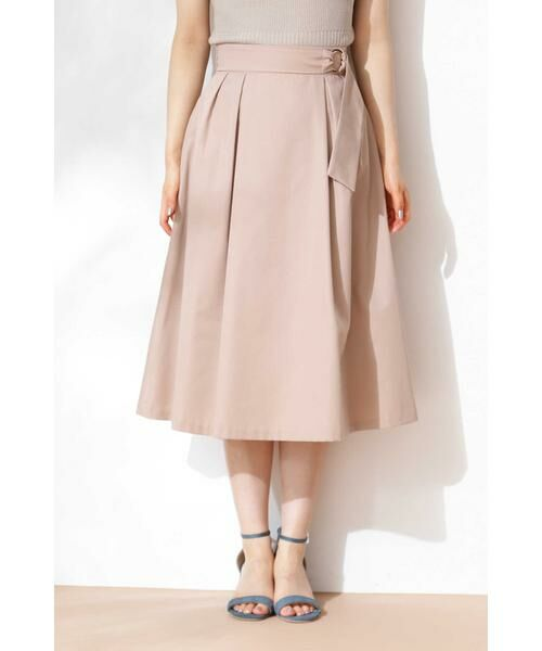 PROPORTION BODY DRESSING / プロポーションボディドレッシング  スカート   ◆リングベルトフレアスカート   詳細12