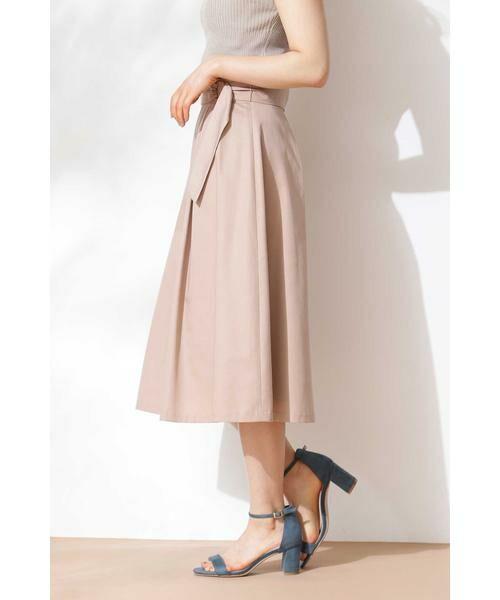 PROPORTION BODY DRESSING / プロポーションボディドレッシング  スカート   ◆リングベルトフレアスカート   詳細13