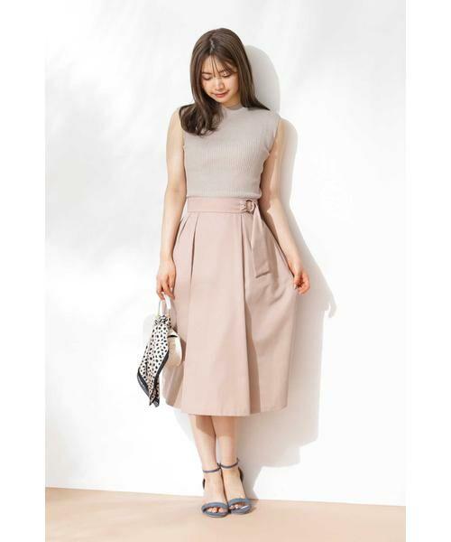 PROPORTION BODY DRESSING / プロポーションボディドレッシング  スカート   ◆リングベルトフレアスカート   詳細15