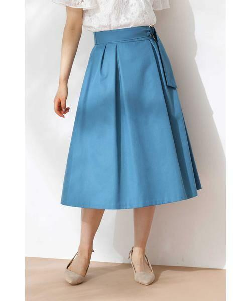 PROPORTION BODY DRESSING / プロポーションボディドレッシング  スカート   ◆リングベルトフレアスカート   詳細20
