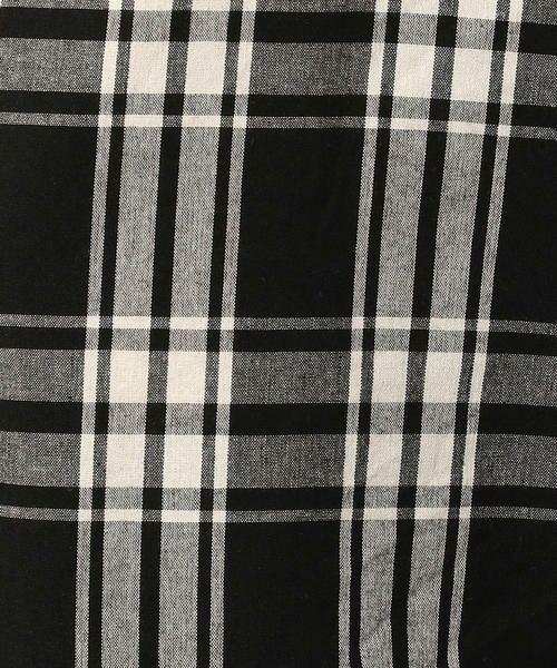 Purple&Yellow / パープルアンドイエロー シャツ・ブラウス | ビッグシルエット チェックシャツ | 詳細2