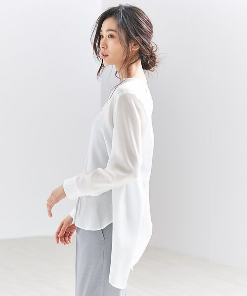 qualite / カリテ シャツ・ブラウス | バックスリットシャツ | 詳細4