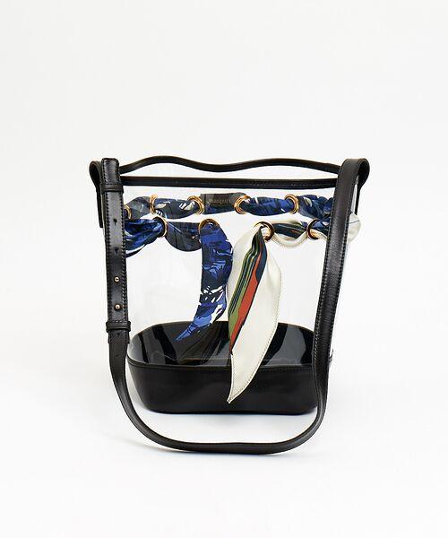 qualite / カリテ ショルダーバッグ | 【manipuri】 PVC Bag(ブラック)