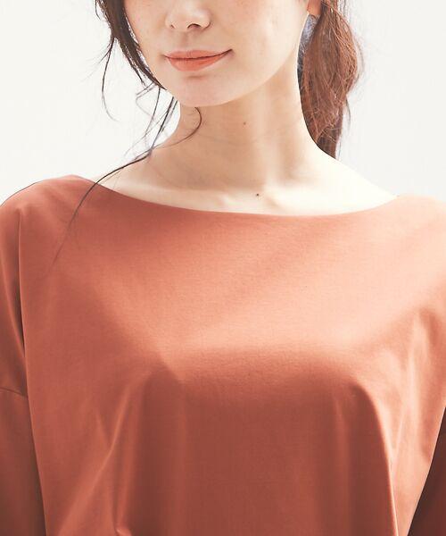 qualite / カリテ Tシャツ | バックギャザーカットソー | 詳細9