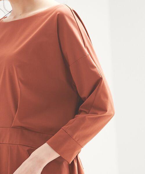 qualite / カリテ Tシャツ | バックギャザーカットソー | 詳細10