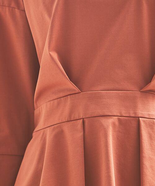 qualite / カリテ Tシャツ | バックギャザーカットソー | 詳細12