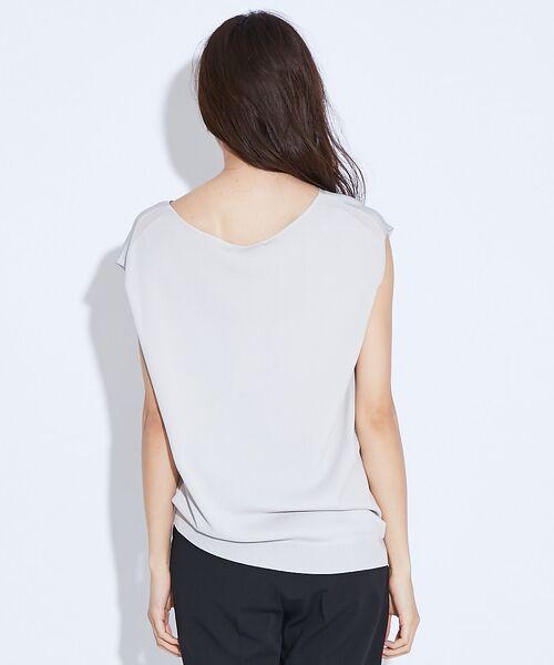 qualite / カリテ ニット・セーター | アシメニットプルオーバー | 詳細3