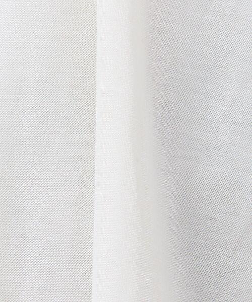 qualite / カリテ シャツ・ブラウス | グロッシーコットンTブラウス | 詳細8