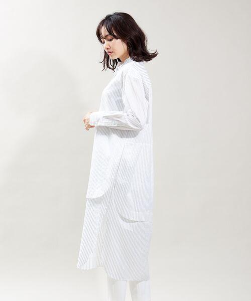 qualite / カリテ ワンピース   レイヤードシャツワンピース   詳細5