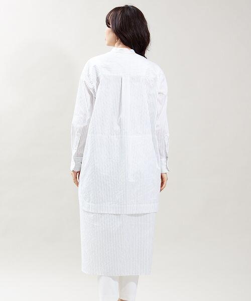 qualite / カリテ ワンピース   レイヤードシャツワンピース   詳細6