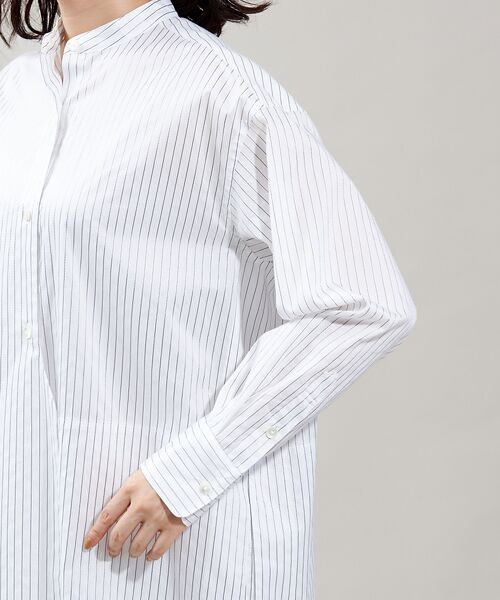 qualite / カリテ ワンピース   レイヤードシャツワンピース   詳細9