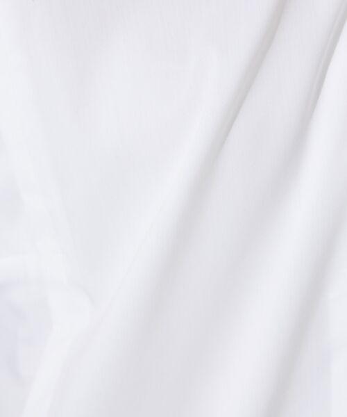 qualite / カリテ シャツ・ブラウス   サイドパネルシャツブラウス   詳細8