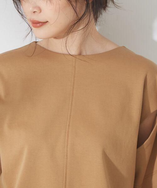 qualite / カリテ Tシャツ | リボン切り替え2WAYカットソー【予約】 | 詳細10