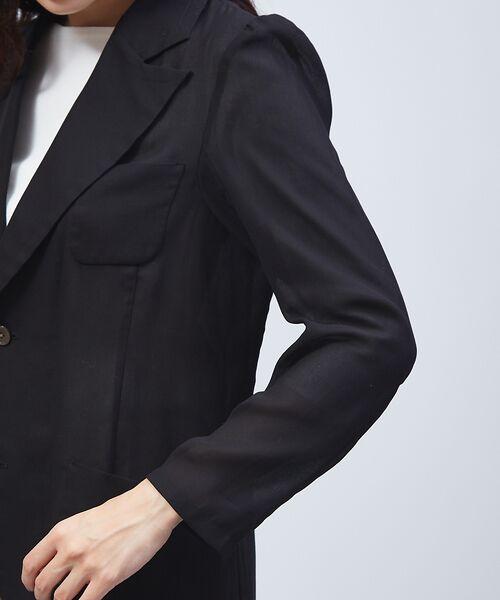 qualite / カリテ テーラードジャケット | オーガンジーシャツジャケット | 詳細5