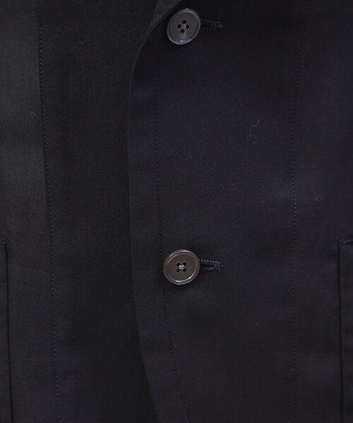 qualite / カリテ テーラードジャケット | オーガンジーシャツジャケット | 詳細8