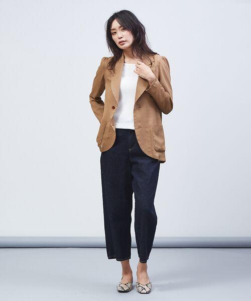 qualite / カリテ テーラードジャケット | オーガンジーシャツジャケット | 詳細14