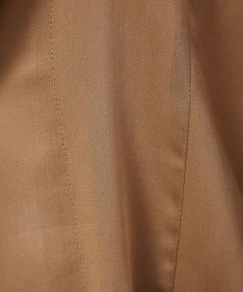 qualite / カリテ テーラードジャケット | オーガンジーシャツジャケット | 詳細16