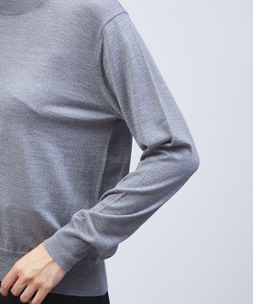 qualite / カリテ ニット・セーター | 【定番アイテム】【アンサンブルOK】ハイゲーシネックニット | 詳細18