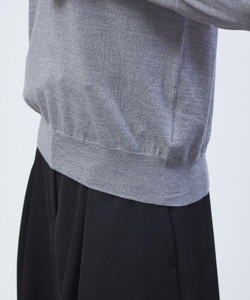 qualite / カリテ ニット・セーター | 【定番アイテム】【アンサンブルOK】ハイゲーシネックニット | 詳細19