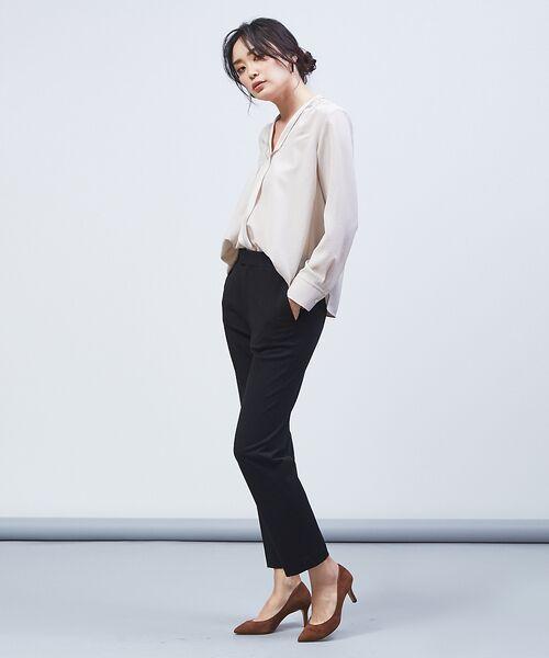 qualite / カリテ シャツ・ブラウス   ラインカラーブラウス   詳細13
