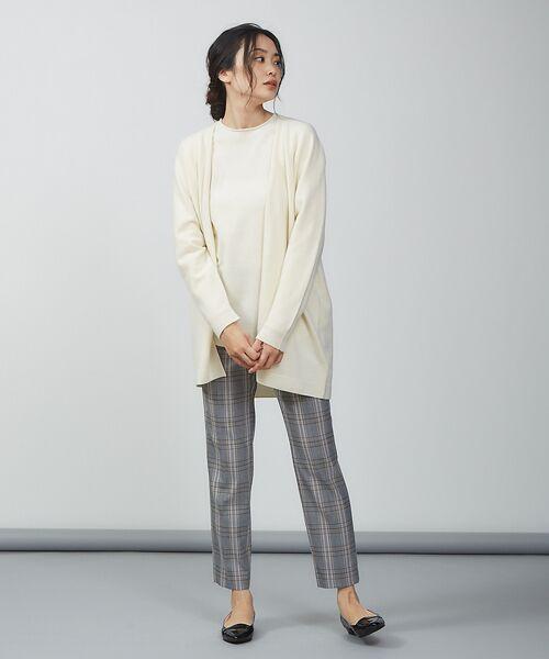 qualite / カリテ ニット・セーター | ウールロングニット【予約】 | 詳細4