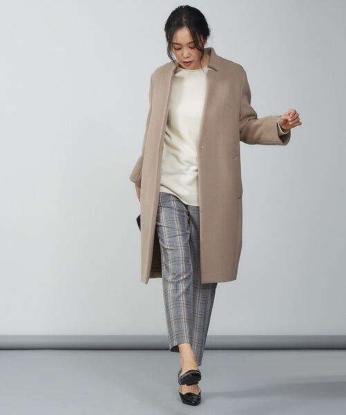 qualite / カリテ ニット・セーター | ウールロングニット【予約】 | 詳細5