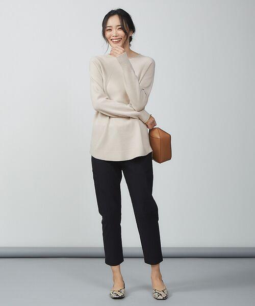 qualite / カリテ ニット・セーター | ウールロングニット【予約】 | 詳細7