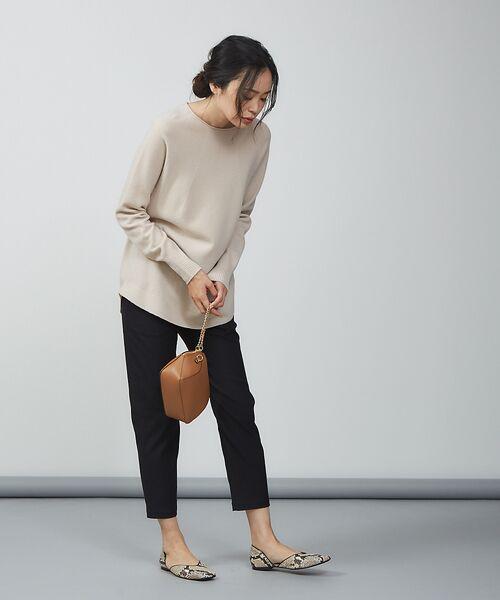 qualite / カリテ ニット・セーター | ウールロングニット【予約】 | 詳細17