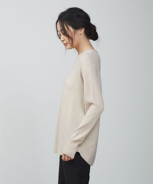 qualite / カリテ ニット・セーター | ウールロングニット【予約】 | 詳細8