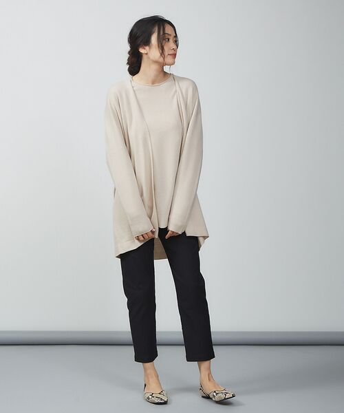 qualite / カリテ ニット・セーター | ウールロングニット【予約】 | 詳細14