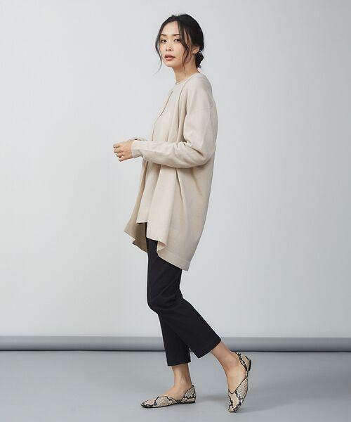 qualite / カリテ ニット・セーター | ウールロングニット【予約】 | 詳細15