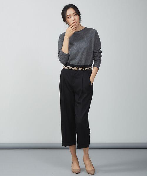 qualite / カリテ ニット・セーター | ウールロングニット【予約】 | 詳細19