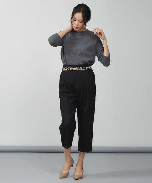 qualite / カリテ ニット・セーター | ウールロングニット【予約】 | 詳細20