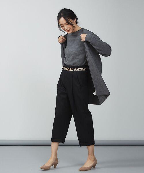 qualite / カリテ ニット・セーター | ウールロングニット【予約】 | 詳細21