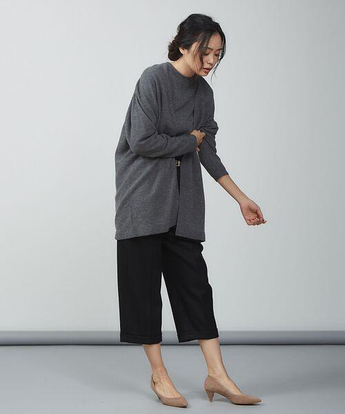 qualite / カリテ ニット・セーター | ウールロングニット【予約】 | 詳細22