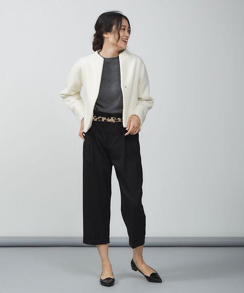 qualite / カリテ ニット・セーター | ウールロングニット【予約】 | 詳細23